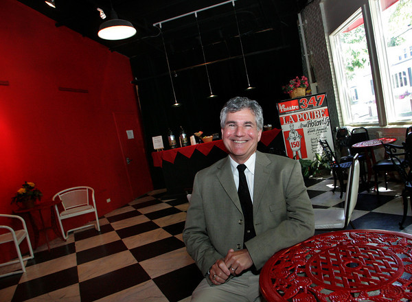 Gloucester: Andrew Burgreen, the new general manager of the Gloucester Stage Company. Mary Muckenhoupt/Gloucester Daily Times