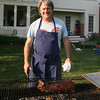 Frank McClelland of L'Espalier and Sel de la Terre held a farm to table dinner series at his home in Essex over the weekend. Photo by Kate Glass/Gloucester Daily Times