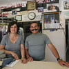 Marie and Rosario Maletti, owners of De Marco's Cleaners on Washington Street, will be celebrating the businesses 70th anniversary. Photo by Kate Glass/Gloucester Daily Times
