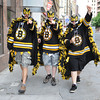 Boston: The Lucicadors of Worcester,Mass came to Boston to celabrate at the Bruins at the Victory parade held Saturday. Desi Smith/Gloucester Daily Times. June 18,2011.