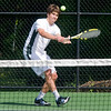 Reading: Manchester-Essex's Jeff Durkin plays Austin Prep's Ed Griffin in their semi-finals 3rd singles match at Austin Prep in Reading. Jim Vaiknoras