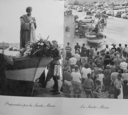 Gloucester: Page from a booklet about the Fiesta in Italy. Jim Vaiknoras/staff/photo