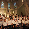 "ALLEGRA BOVERMAN/Staff photo. Gloucester Daily Times. Gloucester: St. Ann School of Cape Ann students performed their concert titled ""Let the Music Take You!"" during their ""Celebration of the Arts,"" held on Thursday at the school and the church. There was also an art exhibit in the school gymnasium and hallway. The choral performance was featuring Betsy Smentek and accompanist Michael Becker The music instruction at the school is through the Urban Voices program of the Metropolitan Opera Guild."
