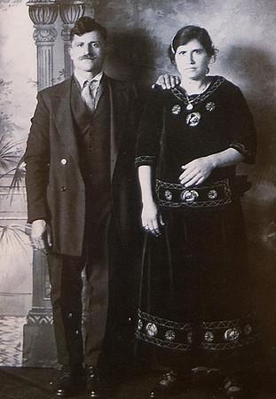 Gloucester: Photograph of Sara Favazza parents JIm Vaiknoras/staff photo