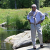 ALLEGRA BOVERMAN/Staff photo. Gloucester Daily Times. Essex: Robin Tattersall at his Essex home.