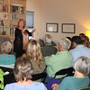 "Best-selling author Brunonia Barry, a Salem native, was a special guest at the Gloucester Writers Center Tuesday night when she spoke about her career, how she started in self publishing and her transition to traditional publishing. Among her best-selling works are ""The Lace Reader"" and ""The Map of True Places.""  Gail McCarthy photo"