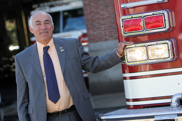 ALLEGRA BOVERMAN/Staff photo. Gloucester Daily Times. Gloucester: New acting fire chief for Gloucester Robert A. DiPoli at the Central Fire Station.
