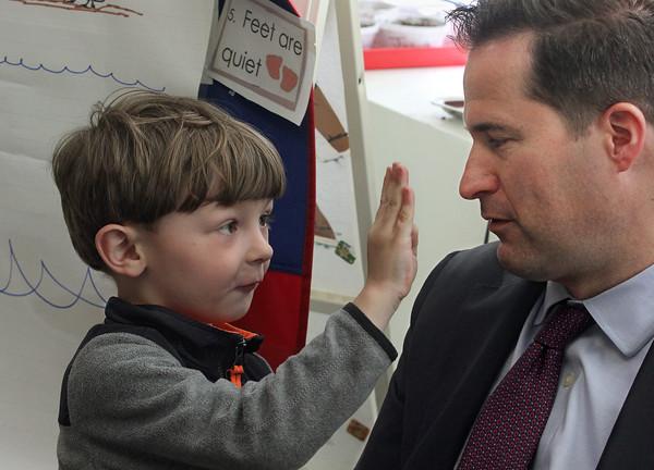 Seth Moulton Visits Pathways for Children