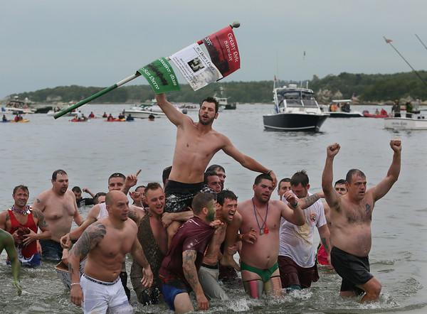 Saturday Greasy Pole Competition