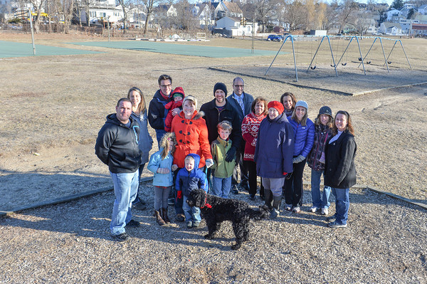 Desi Smith /Gloucester Daily Times.      Friends of Burnham's Field Launched.