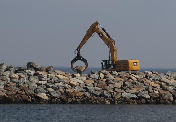 Rockport Breakwater Takes Shape