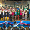 "DESI SMITH/Staff photo.  All the first graders at West Parish School performed in musical play, ""American Symbols,"" in front of parents, teachers and studentson Friday morning.<br />  May 23,2014"