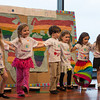 "DESI SMITH/Staff photo.  Pre-K 2 perform ""Kolorful"" Kids during the Rainbow Day School Family Music Night held Wednesday night at Shalin Liu Performance Center in Rockport.   May 28,2014"