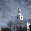 Rockport: The First Congregational Church of Rockport is seeking additional funds from the Community Preservation Act for new windows, a new roof, and exterior paint. Photo by Kate Glass/Gloucester Daily Times Wednesday March 4, 2009