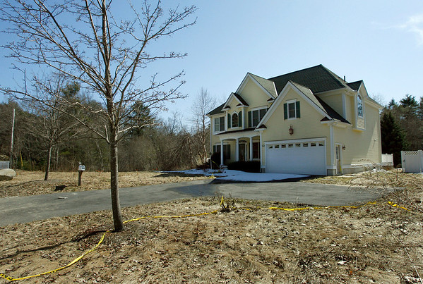 Manchester: 156 Pine Street is one of three properties that the town is seeking to buy because the land is contaminated from the town's old burn dump. Photo by Kate Glass/Gloucester Daily Times Tuesday, March 17, 2009
