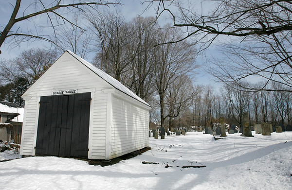 The Hearse House in Essex. Photo by Kate Glass/Gloucester Daily Times Tuesday, March 10, 2009