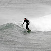 Rockport: A surfer rides a wave at Cape Hedge Beach in Rockport during Monday's storm. Photo by Kate Glass/Gloucester Daily Times Monday, March 2, 2009