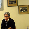 Gloucester: Patricia Kurkel, Regional Administrator of National Marine Fisheries Service, speaks with staff at the Gloucester Daily Times on Monday. Photo by Kate Glass/Gloucester Daily Times Monday, March 2, 2009