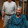 Gloucester: Part of the money raised through the Spring Fling Fair, which will be at the O'Maley Middle School on Saturday from 10-4, will help modify a wheelchair van for Cherylann Parker, shown here with her husband, Peter Meyer. Parker, the Principal of Veterans Memorial School, was injured in a horseback riding incident last fall. Photo by Kate Glass/Gloucester Daily Times