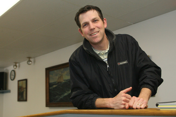 Rockport: Tim Olson has been hired at the new assistant public works director for Rockport. Mary Muckenhoupt/Gloucester Daily Times
