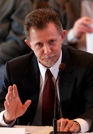 Gloucester: Todd Zinser, Federal Inspector General, appears at Gloucester City Hall to testify at a hearing of the U.S. House Oversight and Government Reform Domestic Policy Subcommitee yesterday focusing on fisheries enforcement practices. Photo by Kate Glass/Gloucester Daily Times