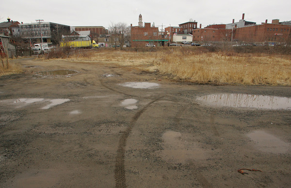 Gloucester: The city is buying the vacant property know as I-4,C-2 on Rogers Street. Mary Muckenhoupt/Gloucester Daily Times