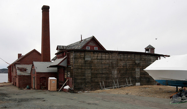 Gloucester: Ocean Alliance has already spent over $500,000 on the Paint Factory building and hopes to finish work on the brick buildings by the end of the year. Photo by Kate Glass/Gloucester Daily Times