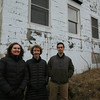 Gloucester: Molly Lutcavage, center, has been instrumental in revitalizing the former UMass marine lab as a large palagic study station, focusing on tuna and other similar fish. Standing with Molly are Emily Chandler, program manager, and Ben Galvardi, research scientist. Photo by Kate Glass/Gloucester Daily Times
