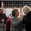 Gloucester: Grace Favazza and Buzz McEachern take a spin on the dance floor at the Rose Baker Senior Center on Monday afternoon as the Good Ole Salty Jazz Band performs. Buzz used to play the drums and has played with several members of the band. Photo by Kate Glass/Gloucester Daily Times