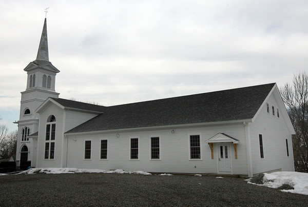 The Orthodox Congregational Church of Lanesville is nearing completion on its Fellowship Hall Building. Photo by Kate Glass/Gloucester Daily Times