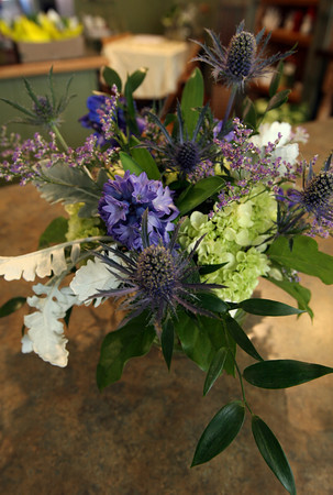 A sample arrangement from Sage Floral Studio on Main Street in Gloucester. Photo by Kate Glass/Gloucester Daily Times