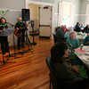 Rockport: The Honky Tonk Women of Gloucester perform during the Rockport Council on Aging and SeniorCare Nutrition Program's St. Patrick's Day luncheon at the new Senior Center, which is located in the Community House. The event was the first large event for the center and was attended by over 40 people. Photo by Kate Glass/Gloucester Daily Times