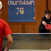 Rockport: Jake O'Maley, a freshman at Rockport High School, plays ping pong against sophomore Nick Laverde as part of Spirit Week. Photo by Kate Glass/Gloucester Daily Times