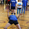 AMY SWEENEY/Gloucester Daily Times.<br /> Freshman girls compete in the tug-of-war contest during the Rockport Spirit Week Final Assembly. The seniors were the winners overall.