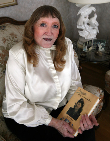 "Jacqueline Mallen of Rockport recently published ""Diary of a French Girl,"" which recounts her experiences living in Paris during World War II. Photo by Kate Glass/Gloucester Daily Times"
