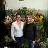 Gina Russo, left, and Beth Genovese of Sage Floral Studio on Main Street in Gloucester. Photo by Kate Glass/Gloucester Daily Times