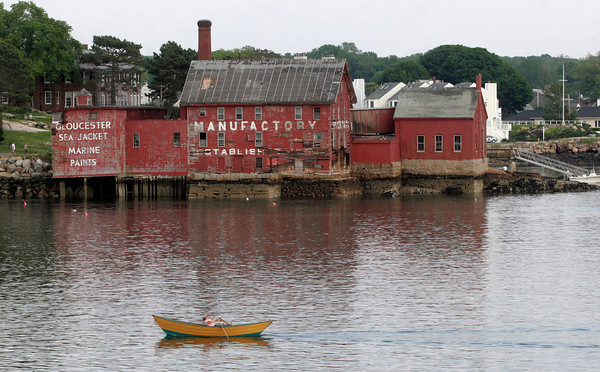 Gloucester: An image of the Paint Factory taken last May. Photo by Kate Glass/Gloucester Daily Times
