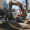Jim Vaiknoras photo: Road work continues on Commonwealth Ave in Gloucester. This is one of many street in the city that are blocked or partially blocked.<br /> , Jim Vaiknoras photo: Road work continues on Commonwealth Ave in Gloucester. This is one of many street in the city that are blocked or partially blocked.