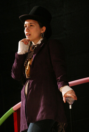 """ALLEGRA BOVERMAN/Staff photo. Gloucester Daily Times. Gloucester: Madison Smith is Willy Wonka in the upcoming O'Maley Middle School production of """"Willy Wonka Junior."""""""