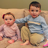 ALLEGRA BOVERMAN/Staff photo. Gloucester Daily Times. Wilmington: Two of the three Vestal family children have urea cycle disorder. Marisa, nine months old, left, and Michael, 3, both have this condition, which is carefully managed by their parents and doctors.
