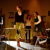 "Photo Courtesy of Jake Levin/Gloucester Daily Times. Gloucester: During a rehearsal of ""Lockdown,"" the one act play that Gloucester High School Drama Club students are performing during the upcoming 2012 Massachusetts Drama Festival competition this weekend.  From left are Ryan Hull, Kate Parisi, Amberly Moody, Kelly O'Dea, Zoe Paddock, Zach Schultz and Nicole Bauke."