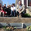 ALLEGRA BOVERMAN/Staff photo. Gloucester Daily Times. Gloucester: Members of The Cape Ann Farmers' Market's Backyard Growers Program. The organization will hold the second of two garden trainings this Saturday, March 31, from 9:30 to 11:30 a.m. at the Open Door, 29 Emerson Ave., (rear entrance). Front row, from left, are: Lara Lepionka, Antoinetta Vila, Noah McNair, Randi Vila, John Vila and their dog Nino. Second row, from left are: Becky Nimon, Robyn McNair and Alison Wotonski of The Food Project.