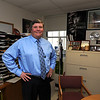 Gloucester:Principal Dr Bill Goodwin in his office at Gloucester high. Jim Vaiknoras/staff photo
