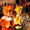 Allegra Boverman/Gloucester Daily Times. In front, twins Maisie and Jemima Grow play seahorses in the O'Maley Innovation Middle School's Performing Arts Department production of Disney's Little Mermaid Junior. There are two separate casts in the production.