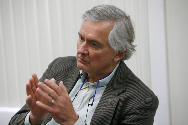 Allegra Boverman/Gloucester Daily Times. Regional head of NOAA, John Bullard.