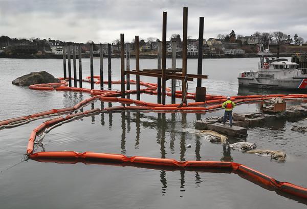 Harbor Work Progresses