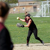 Rockport: Rockport's Kaitlin Keough had the teams only two hits during their game against Triton yesterday afternoon. Photo by Kate Glass/Gloucester Daily Times Wednesday, May 6, 2009