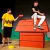 "Rockport: Brian Andano as Charlie Brown and Dan Demarco as Snoopy rehearse a scene from Rockport High School's production of ""You're A Good Man, Charlie Brown,"" which is showing Friday, May 15, at 7:30, Saturday, May 16, at 2:30 and 7:30 and Sunday, May 17, at 12:30. Tickets are $10, $7 for students and seniors. Photo by Kate Glass/Gloucester Daily Times Wednesday, May 12, 2009"