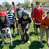 Essex: Manchester Memorial students who will be at the new Middle School next year will hopefully be able to join a newly-formed ski team. Shown are: (back row l-r) William Kiley, Cael Schwartz, Chris McAuliff, Doug Rodier, (front row l-r) Andy Creighton, Sam Creighton and Sam Koufman. Photo by Kate Glass/Gloucester Daily Times Tuesday, May 12, 2009