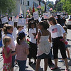 Rockport: Rockport Elementary School students carry the names of deceased veterans during the Rockport Memorial Day parade yesterday. Photo by Gail McCarthy/Gloucester Daily Times Monday, May 25, 2009
